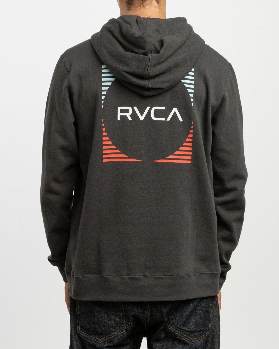 3 Logo Pack Hoodie Black M625TRLO RVCA