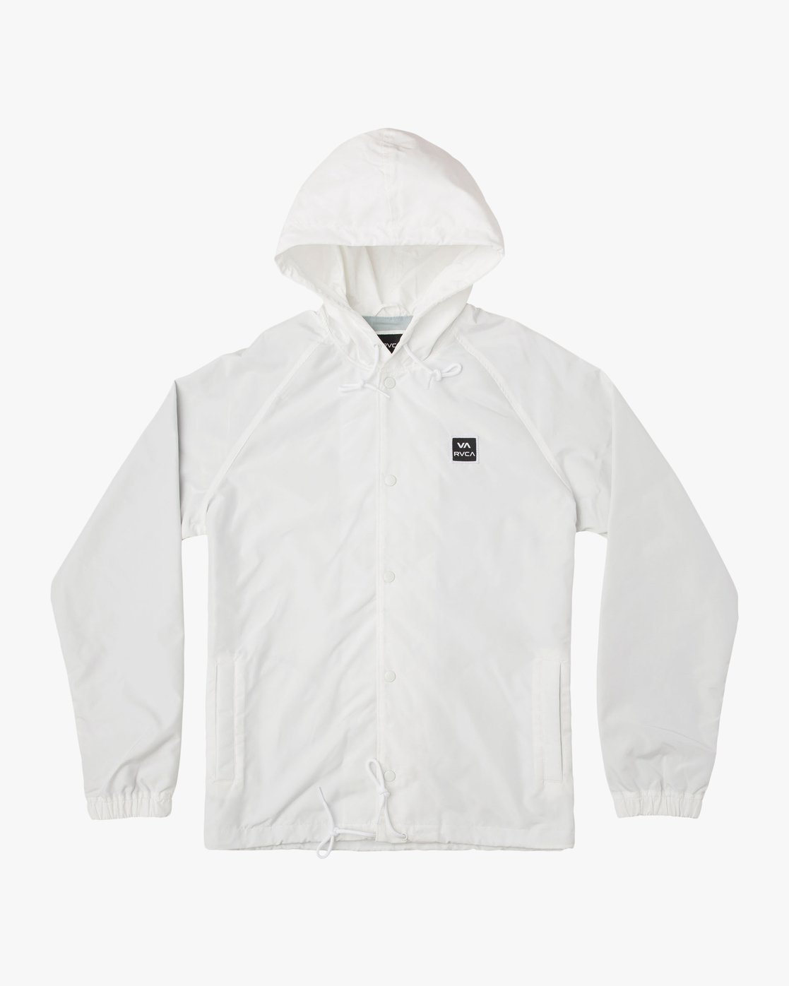 0 VA Hooded Coaches Jacket White M701NRVA RVCA