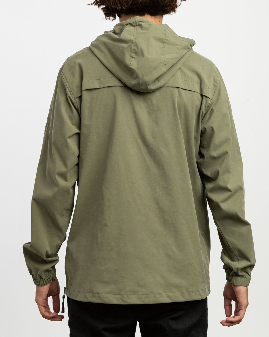 3 On Point Anorak Jacket Brown M701TROP RVCA