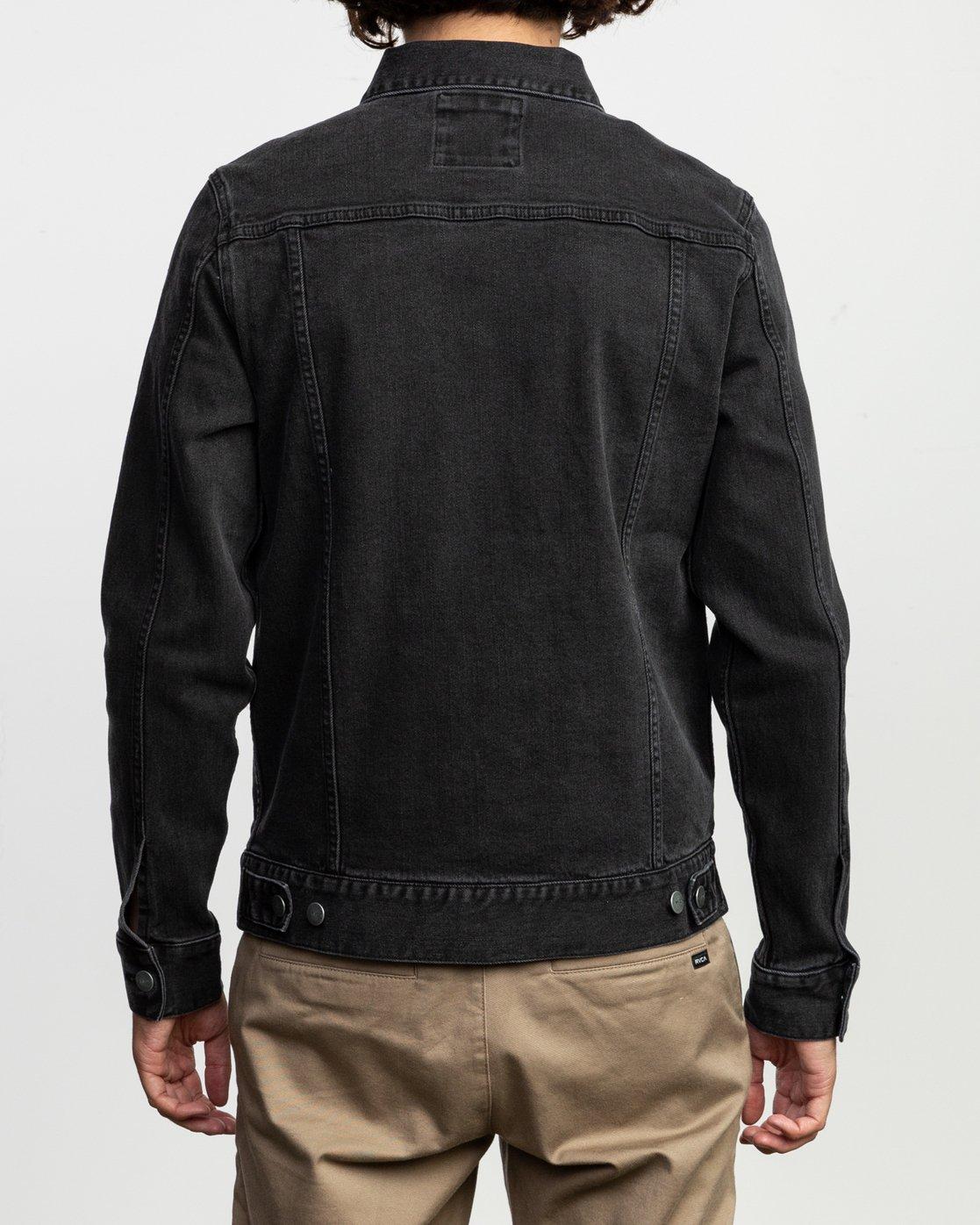 5 Daggers Denim Jacket  M703TRDV RVCA
