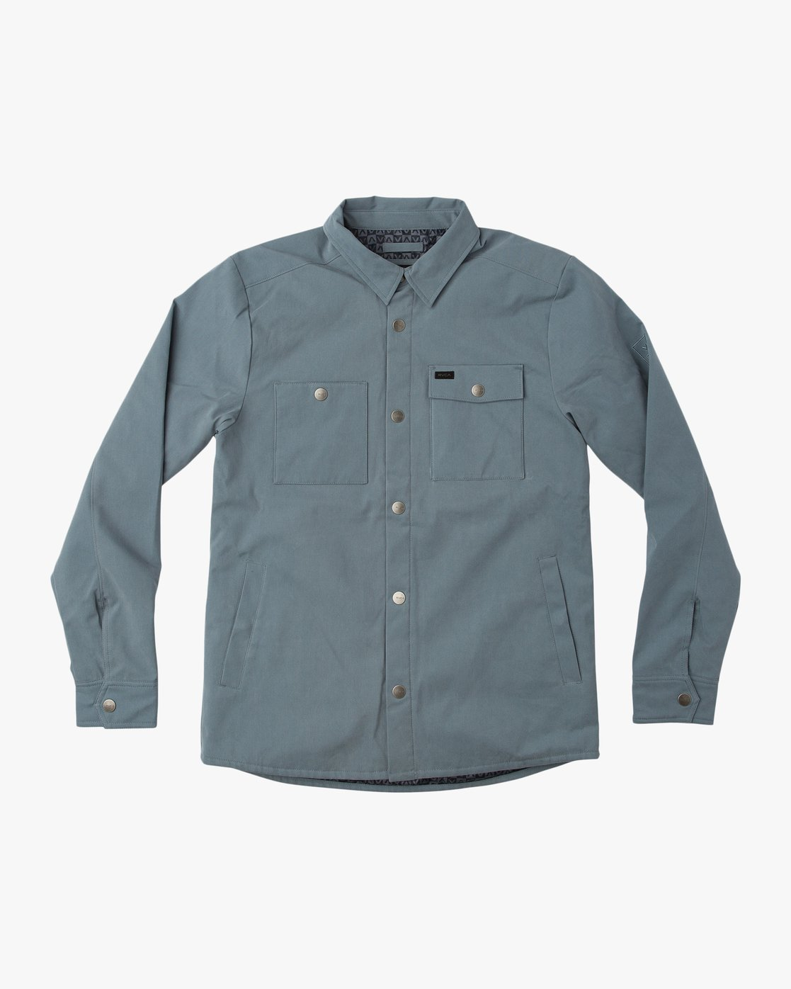 0 Utility Shirt Jacket Blue M708QRUS RVCA