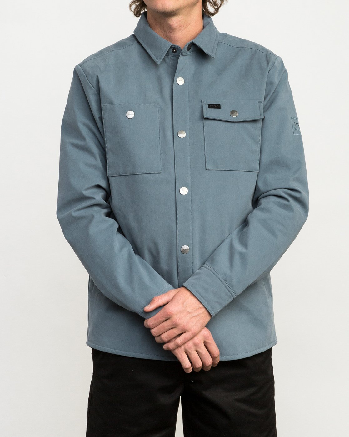 2 Utility Shirt Jacket Blue M708QRUS RVCA