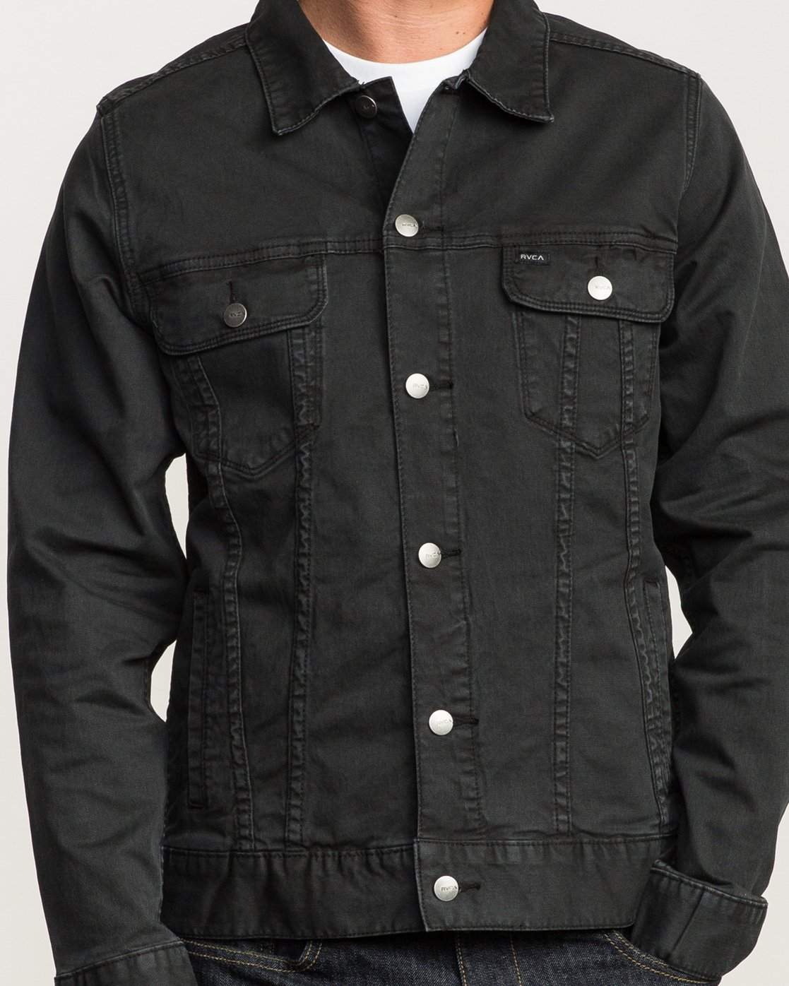 5 Daggers Denim Jacket Black M780NRDJ RVCA