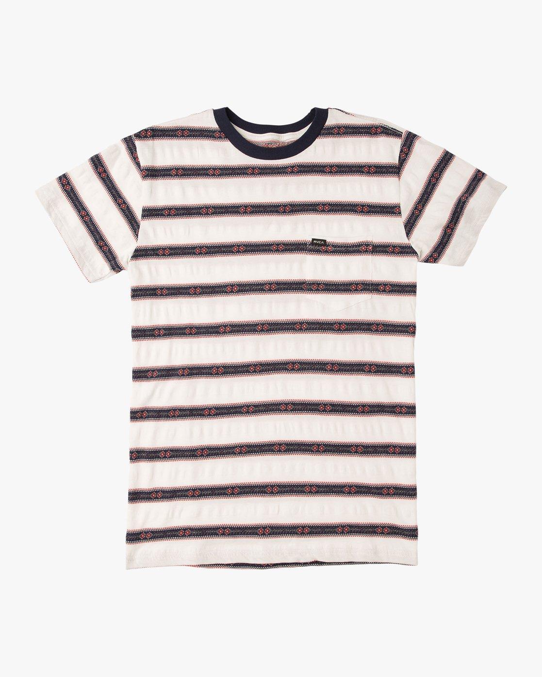 0 Outer Sunset Knit T-Shirt  M902QROS RVCA