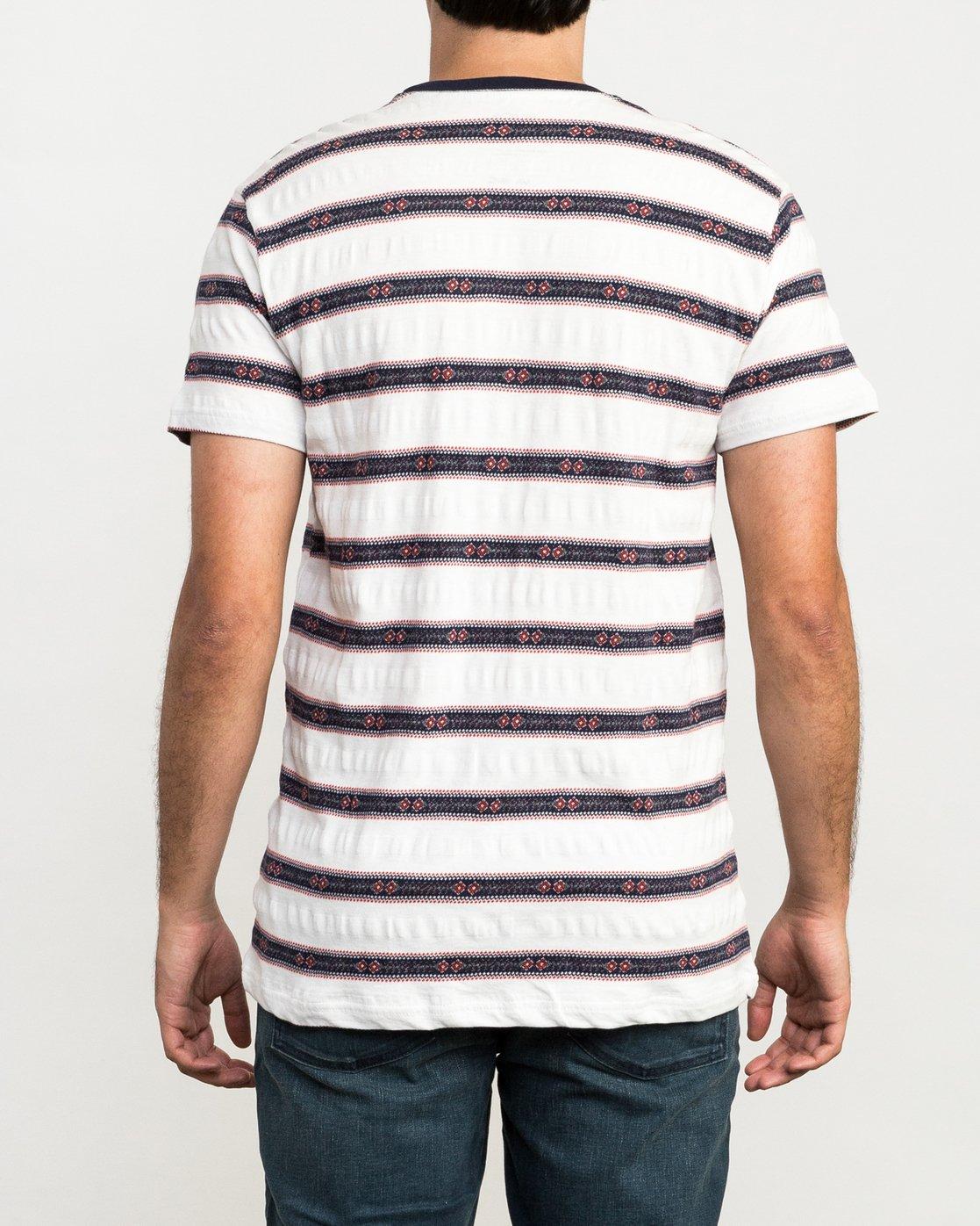 3 Outer Sunset Knit T-Shirt  M902QROS RVCA