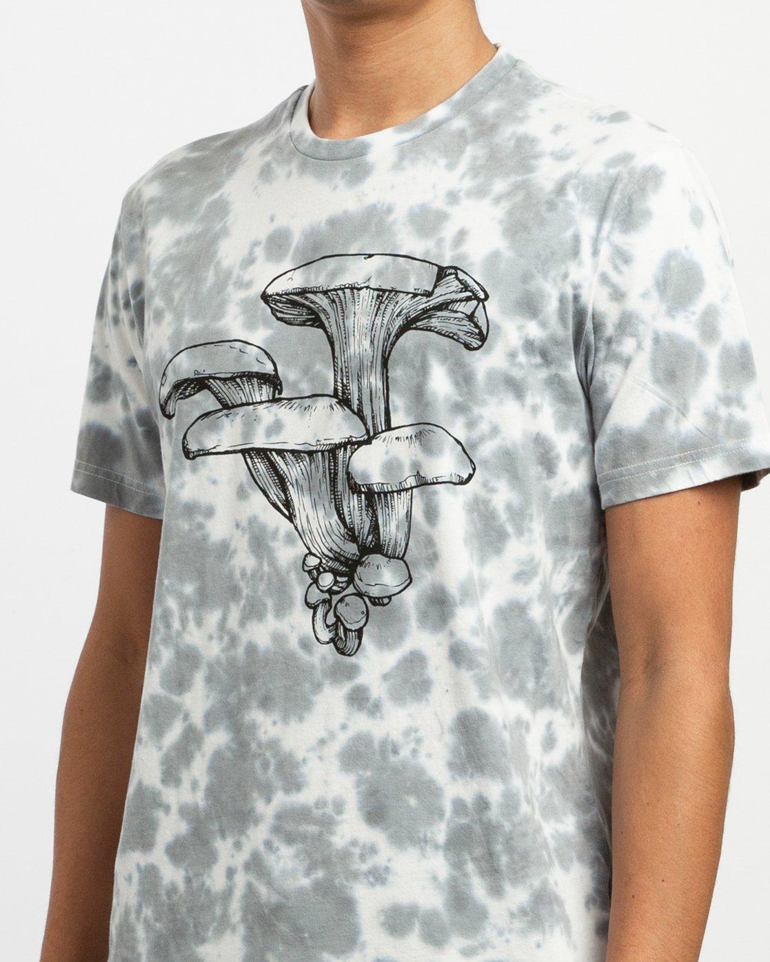 4 Sage Vaughn Tie-Dye T-Shirt White M907TRVS RVCA