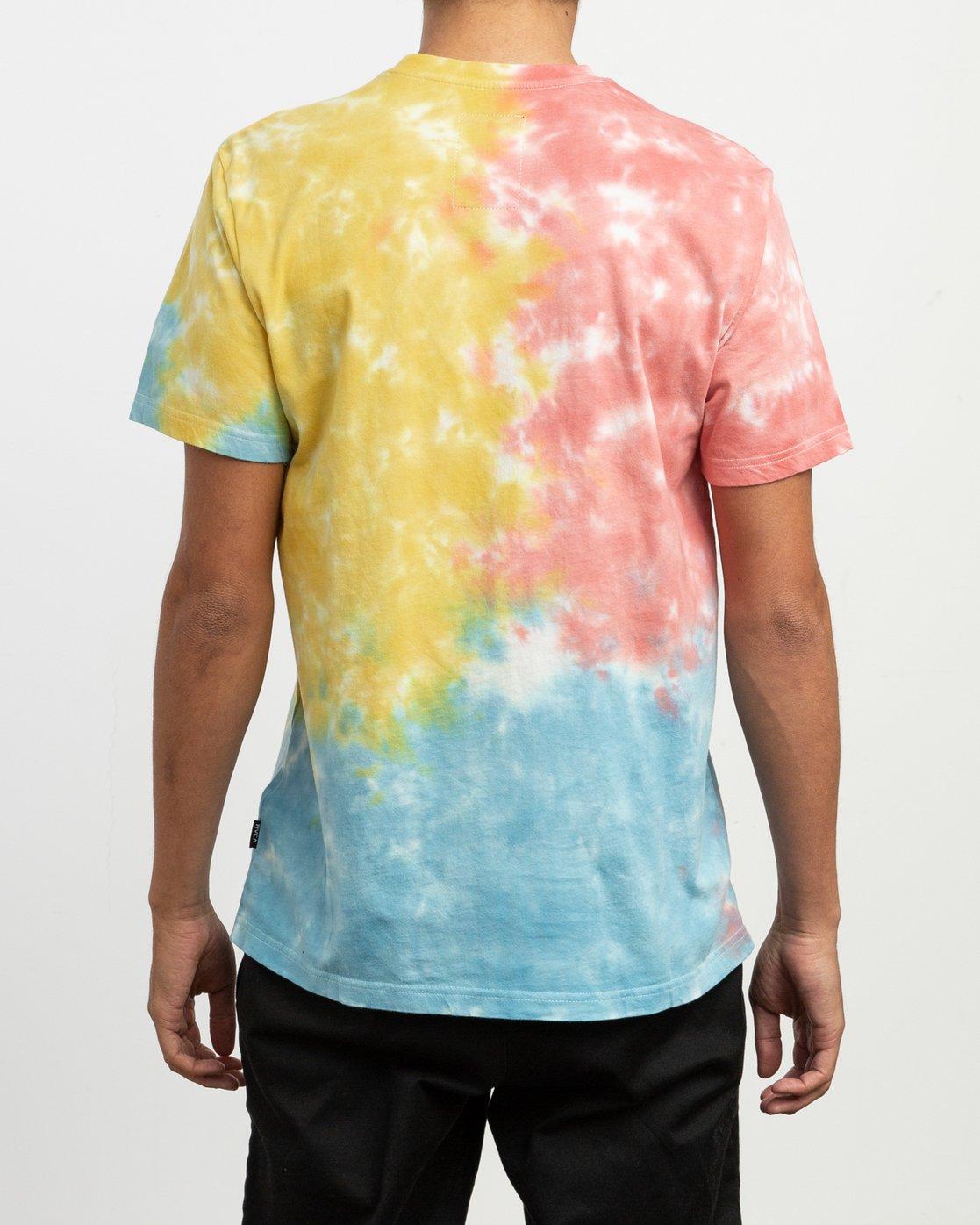 3 Sage Vaughn Tie-Dye T-Shirt Multicolor M907TRVS RVCA