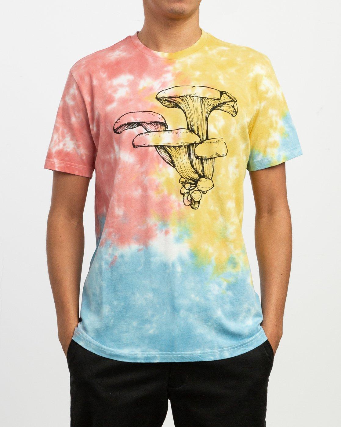1 Sage Vaughn Tie-Dye T-Shirt Multicolor M907TRVS RVCA