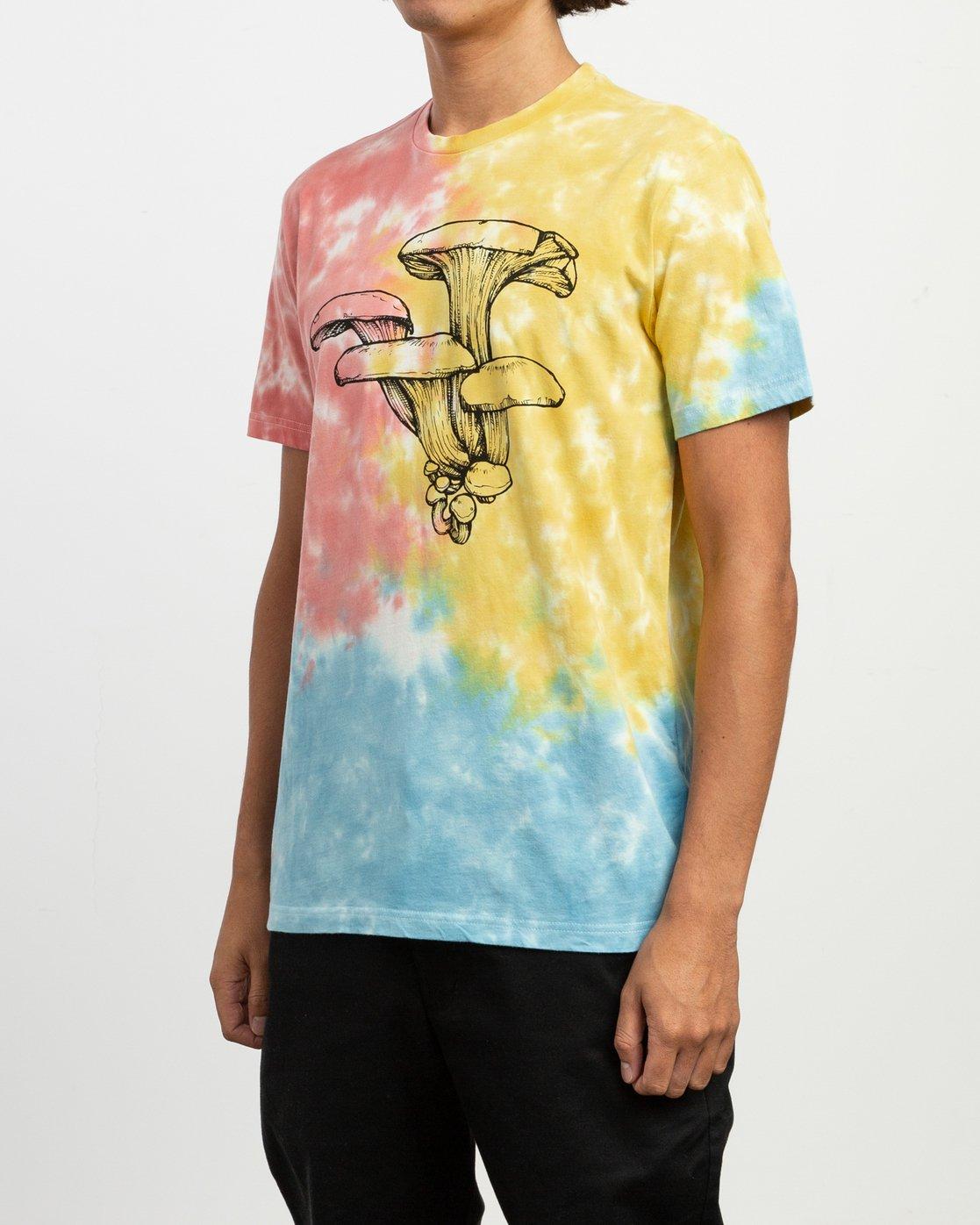 2 Sage Vaughn Tie-Dye T-Shirt Multicolor M907TRVS RVCA