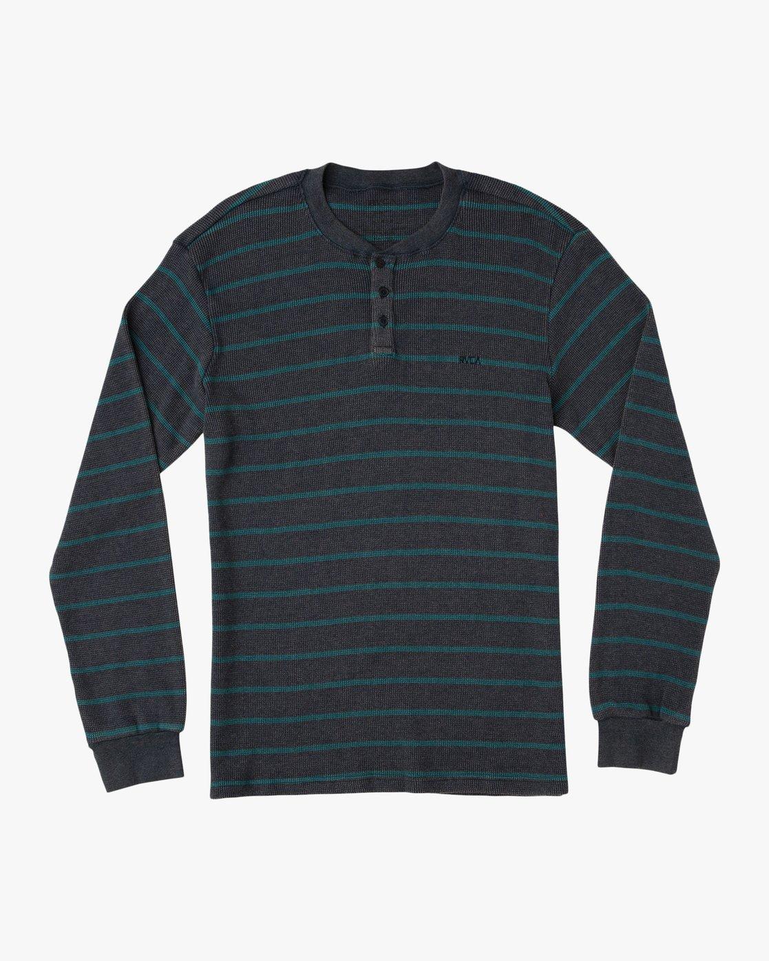 0 Harpoon Thermal Knit Shirt  M953QRHT RVCA