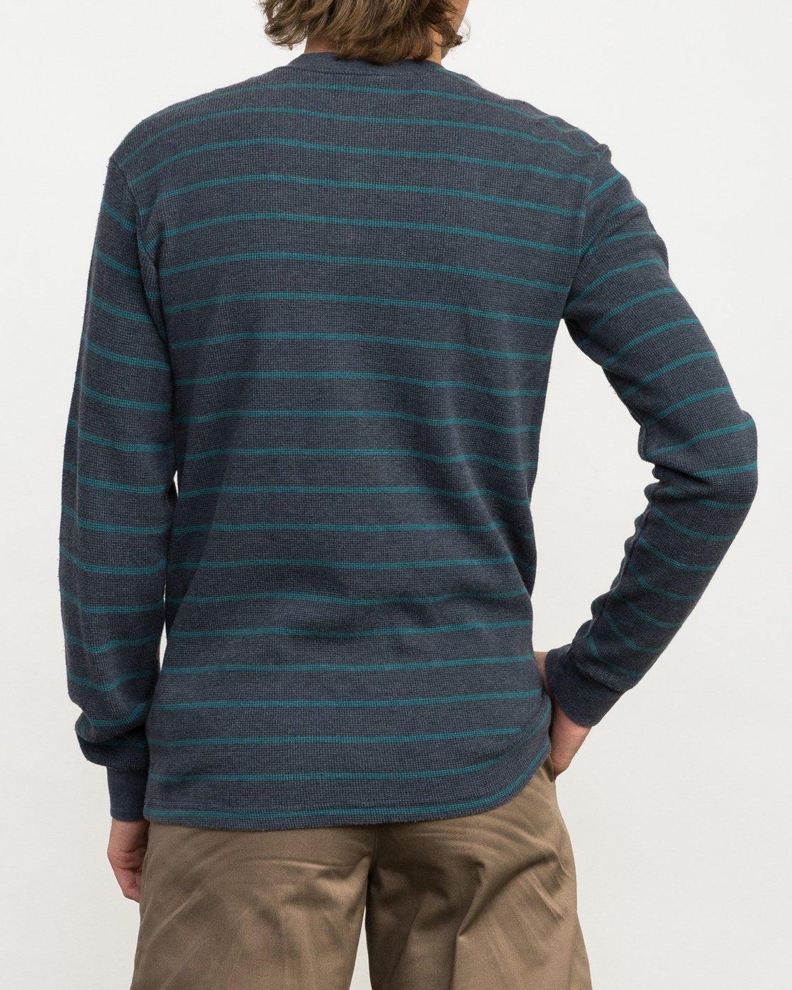 3 Harpoon Thermal Knit Shirt  M953QRHT RVCA