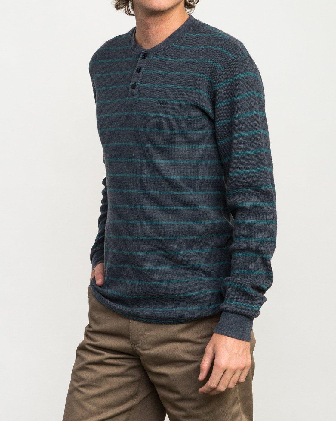 2 Harpoon Thermal Knit Shirt  M953QRHT RVCA