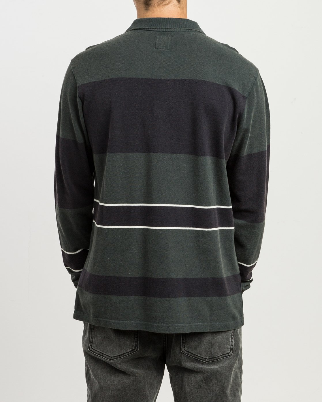 3 Andrew Reynolds Compilation Polo Green M955SRCP RVCA