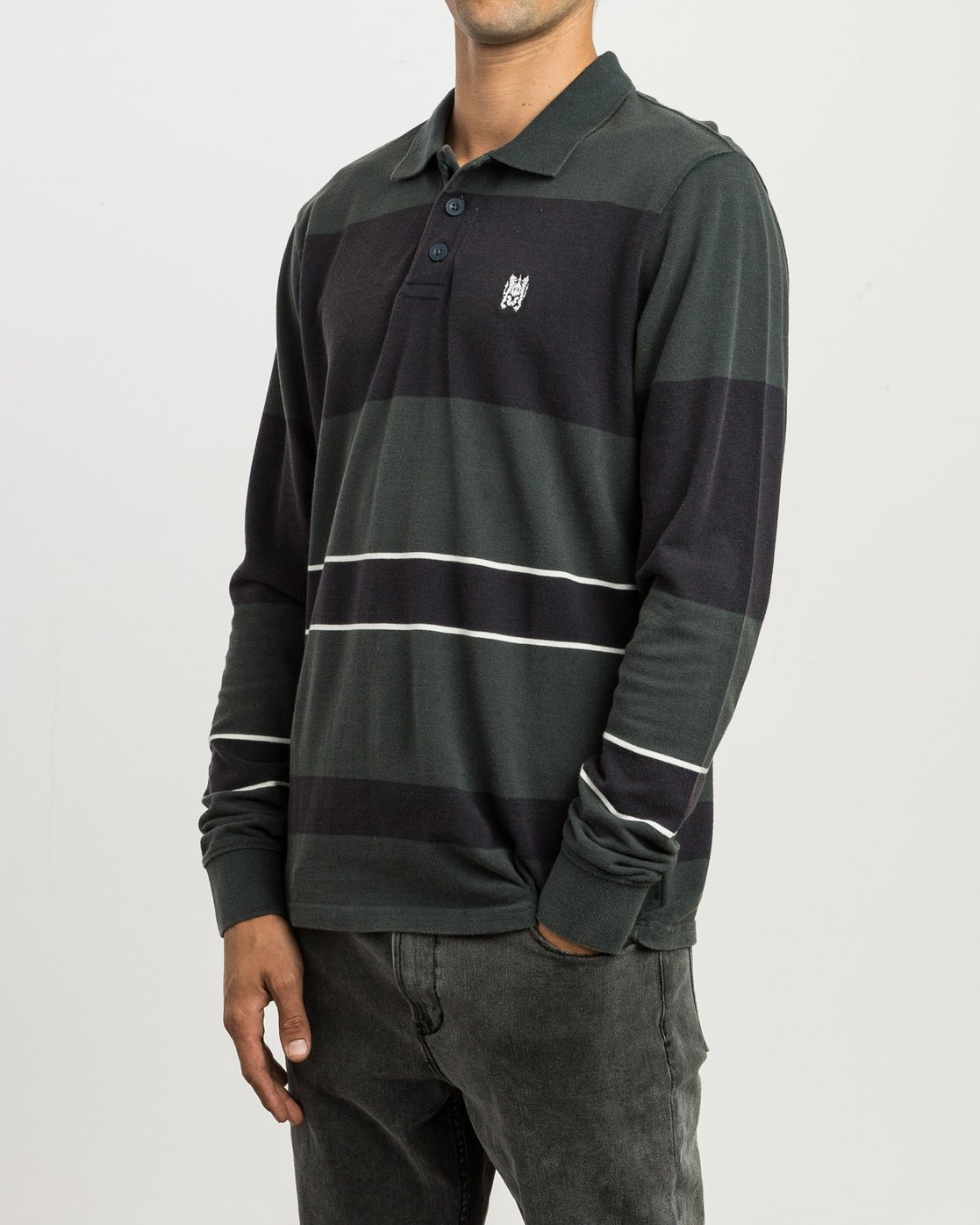 2 Andrew Reynolds Compilation Polo Green M955SRCP RVCA