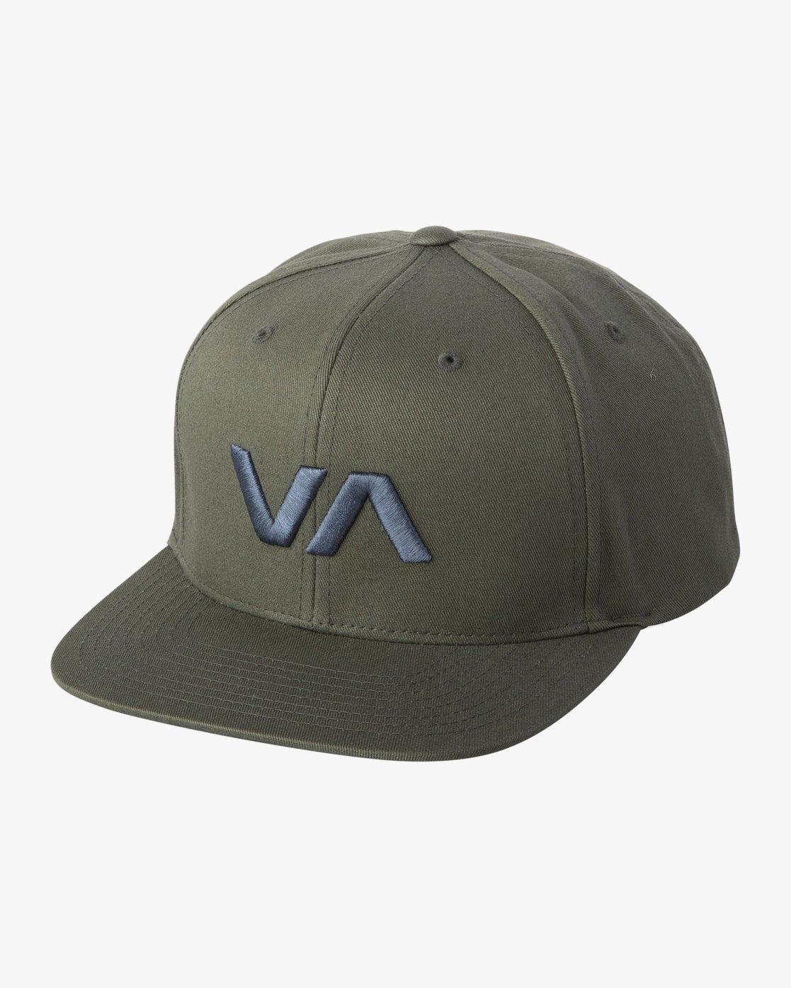 f221224d5ed 0 VA Snapback II Hat Green MAAHWVAS RVCA