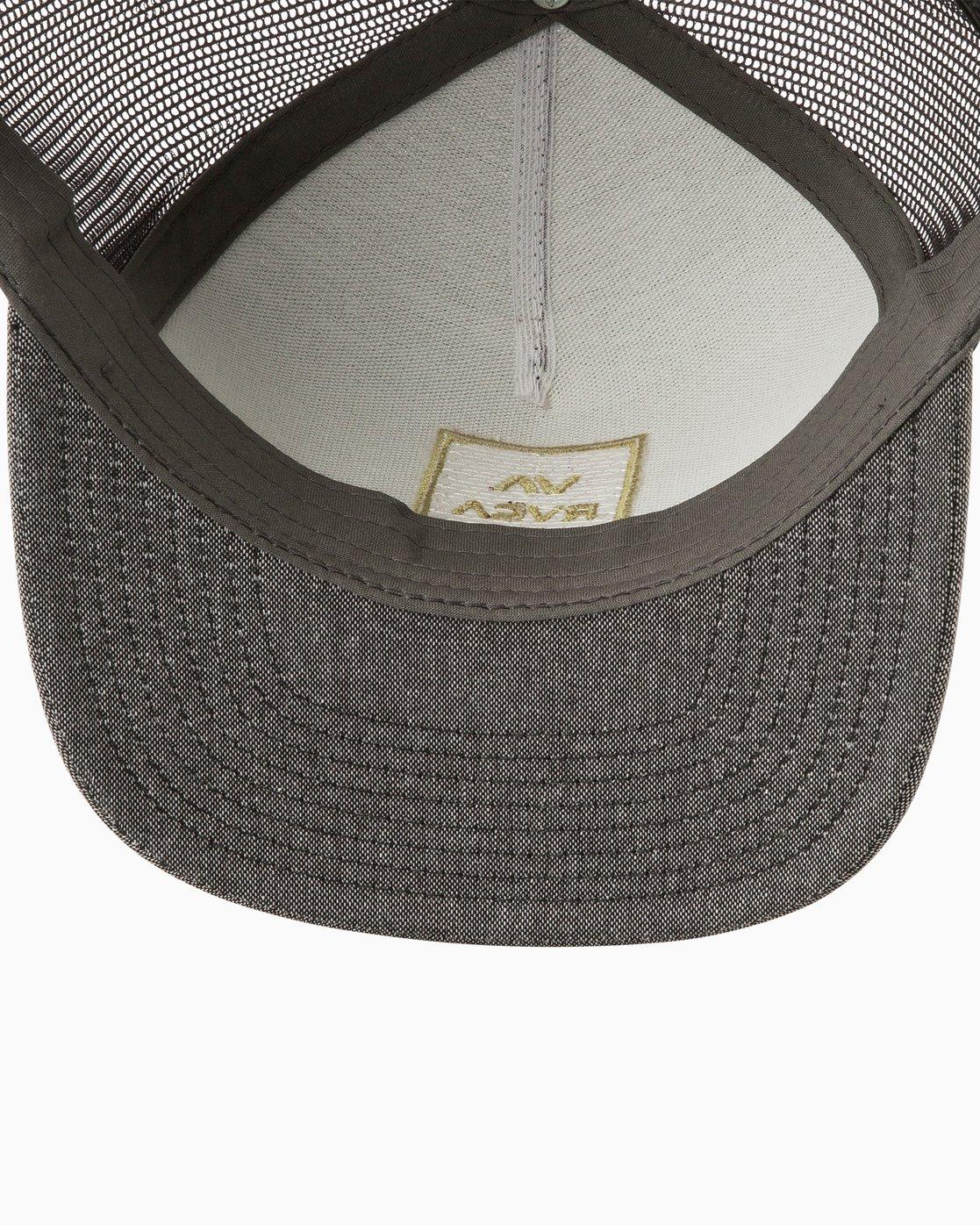 2 VA All The Way Trucker Hat III Grey MAAHWVWY RVCA