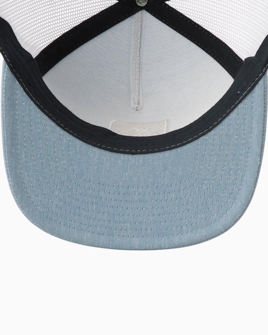 2 VA All The Way Trucker Hat III Blue MAAHWVWY RVCA