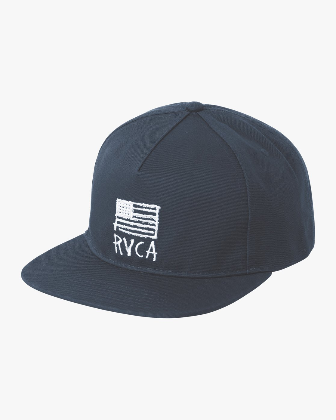 0 Flags Unstructured Hat Blue MAHWPRRF RVCA e73a1381d31