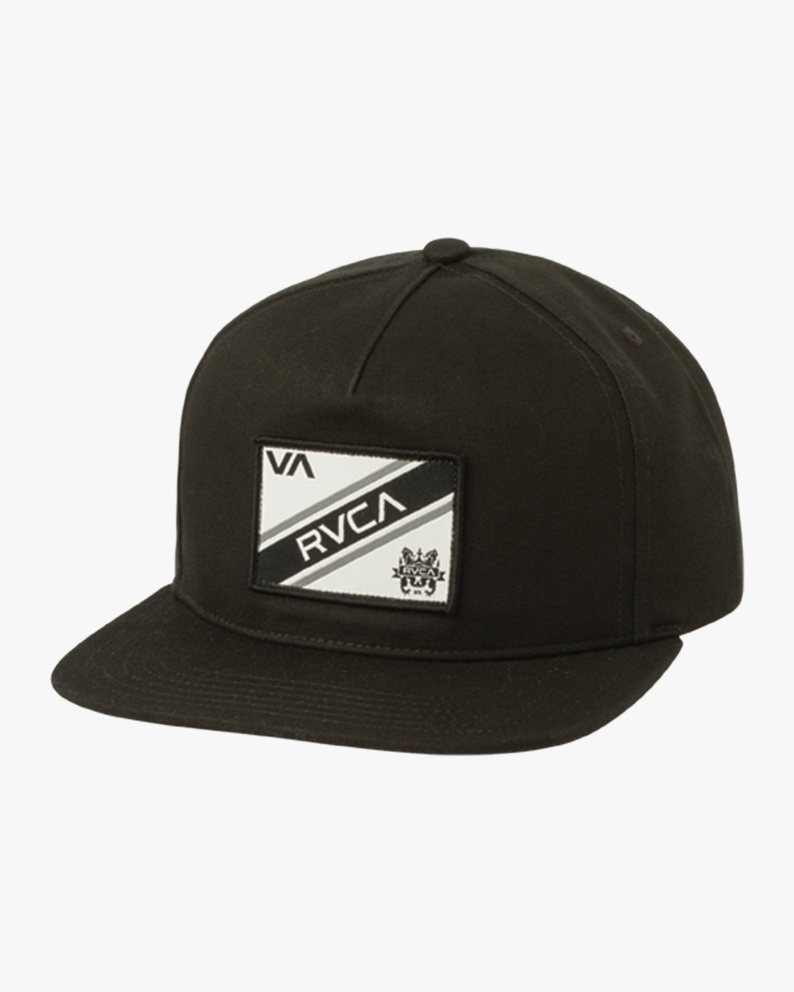 0 Places Structured Snapback Hat Black MAHWQRNP RVCA 5ed26b99af2c