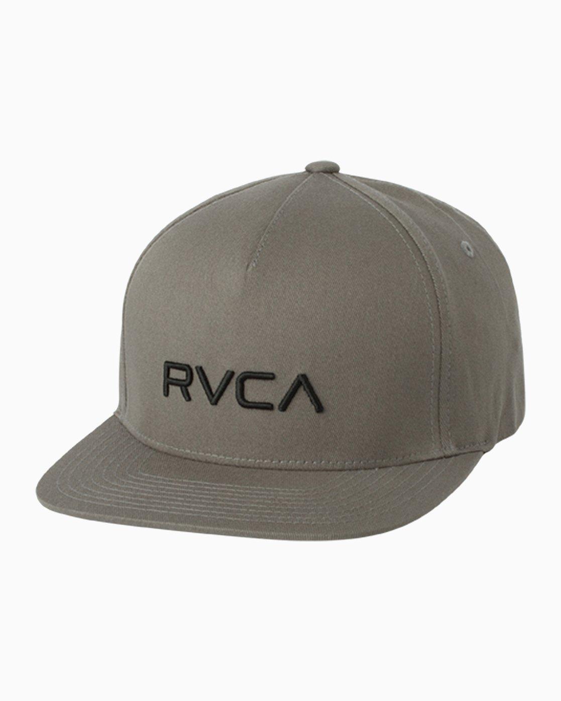 0 RVCA Sport Flexfit Hat Grey MAHWQRSF RVCA f39a44ca76f