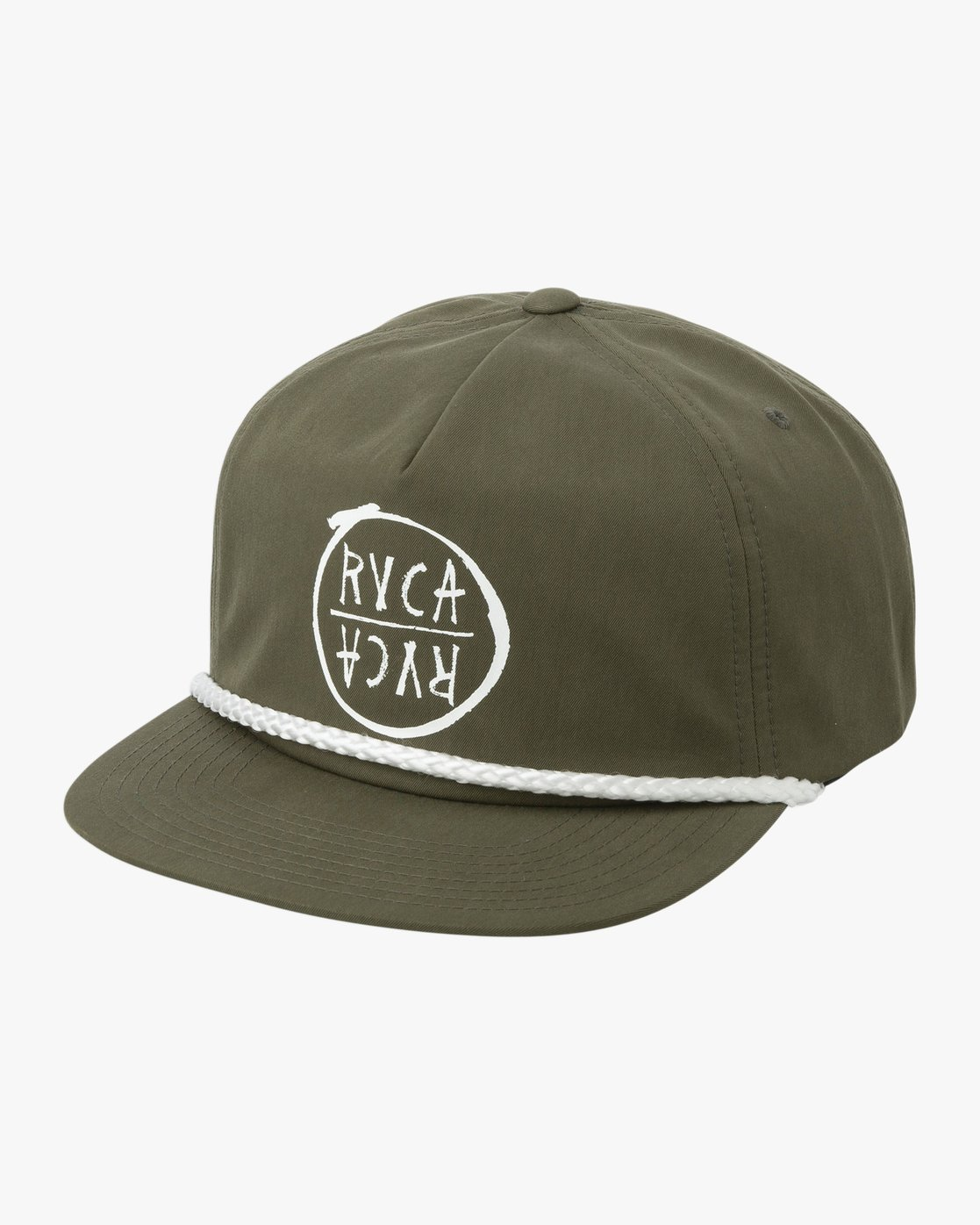 34c8967dc21 1 Graphic Pack Snapback Hat Green MAHWTRGP RVCA