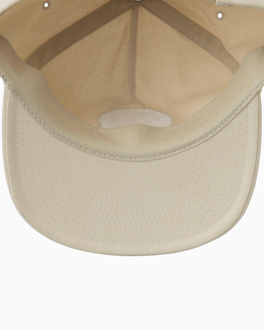 2 Prowler Snapback Hat Green MAHWTRPR RVCA