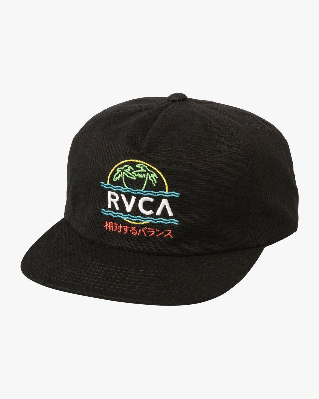 0 Vakay Snapback Hat Black MAHWTRVA RVCA f3a26b4dec