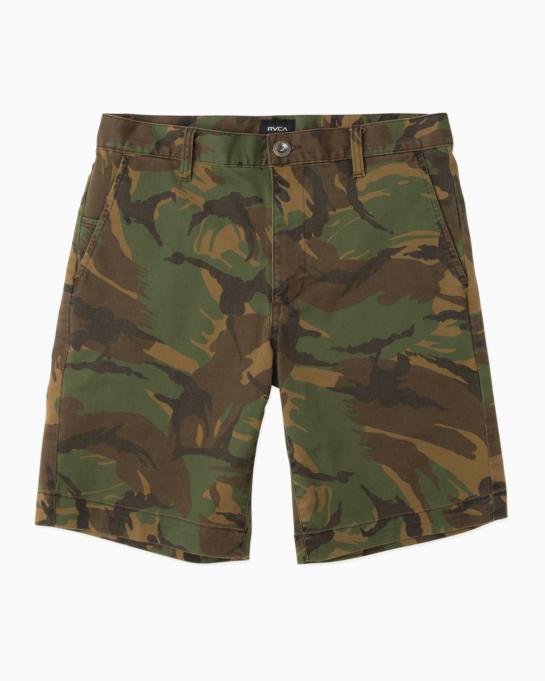 0 Week-End Stretch Shorts Camo MC202WKS RVCA