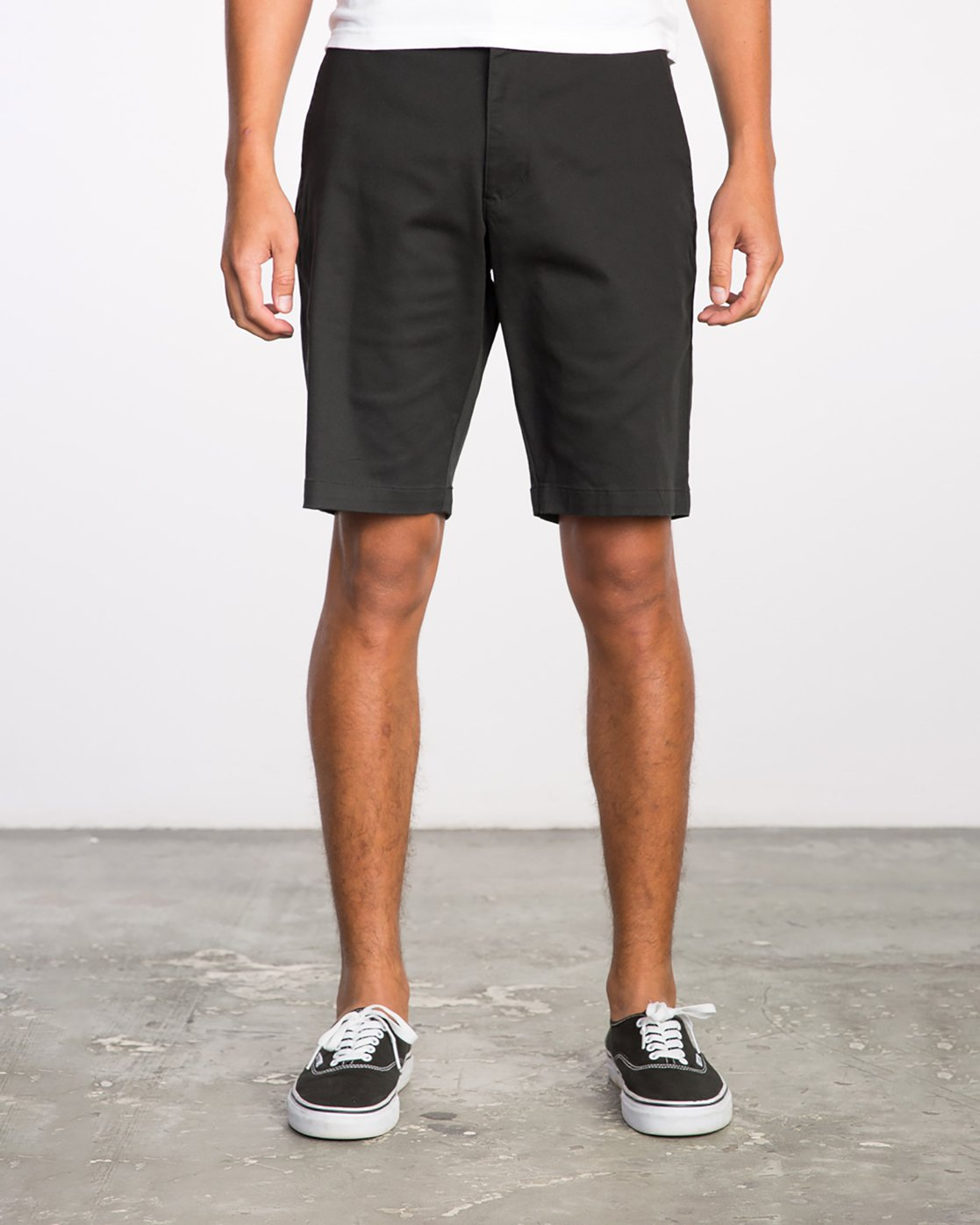 1 Week-End Stretch Shorts Black MC202WKS RVCA