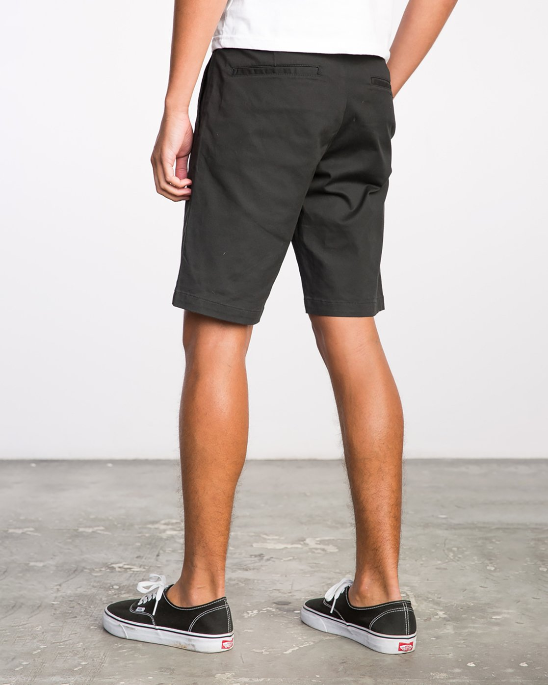 3 Week-End Stretch Shorts Black MC202WKS RVCA