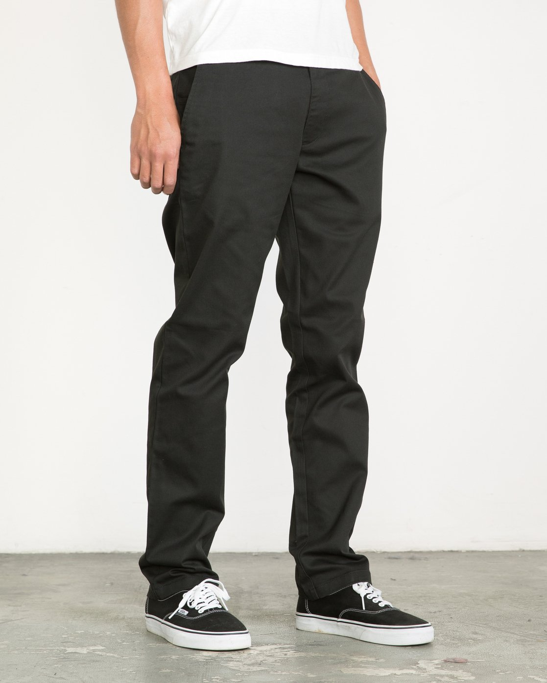 5 Week-end Stretch Pants Black MC303WST RVCA