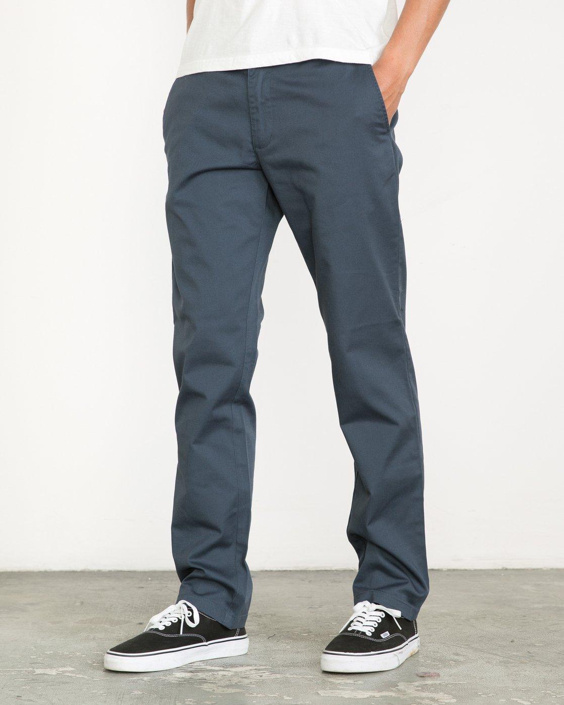 0 Week-end Stretch Pants Blue MC303WST RVCA