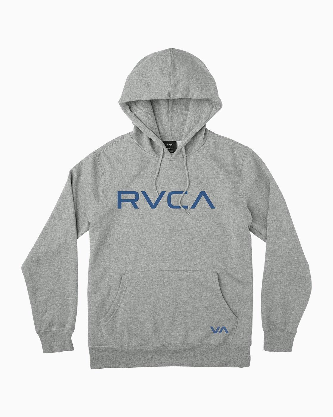0 Big RVCA Hoodie Grey MF70Q00B RVCA