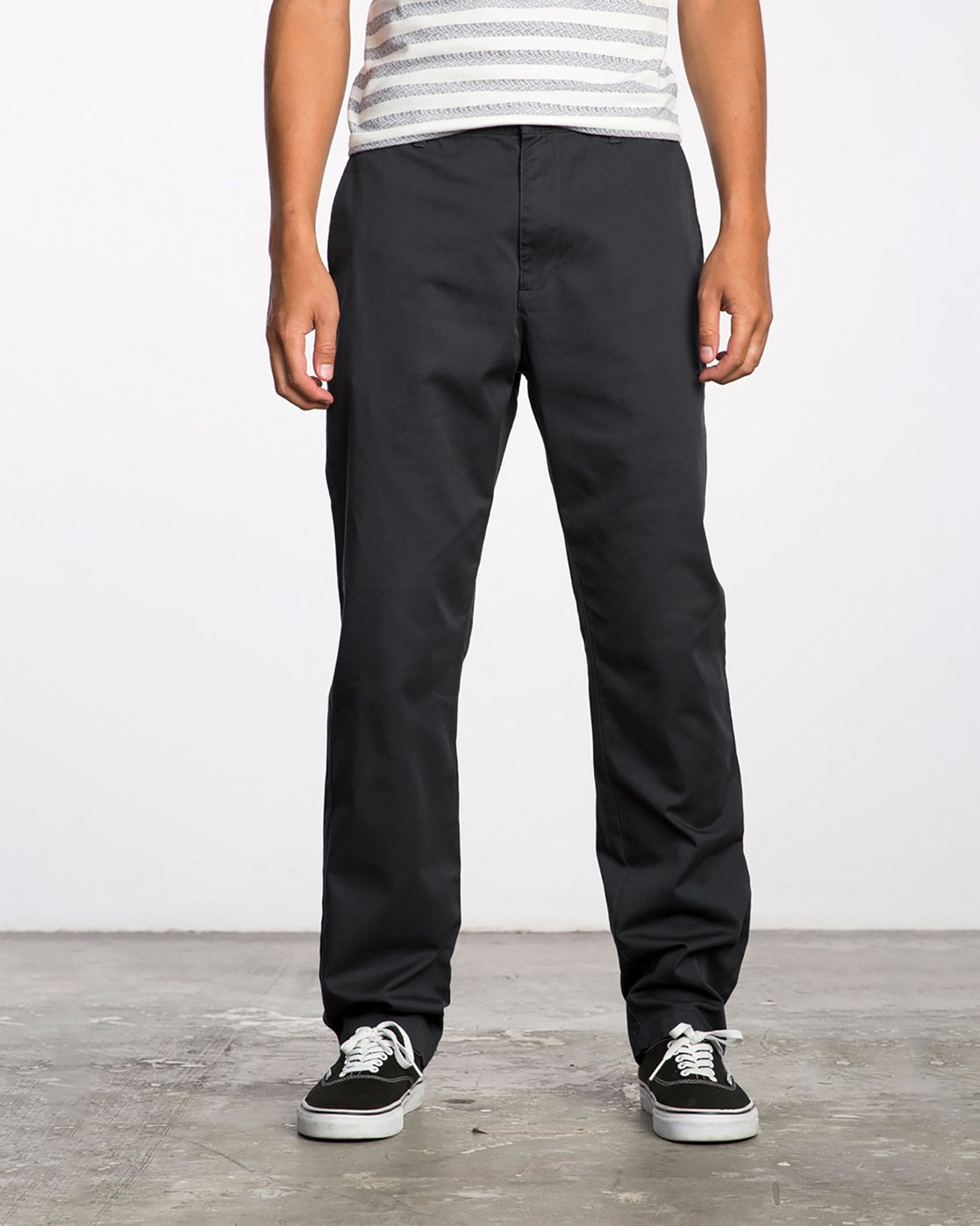 0 The Dayshift II Chino Pants Black MG302DAY RVCA