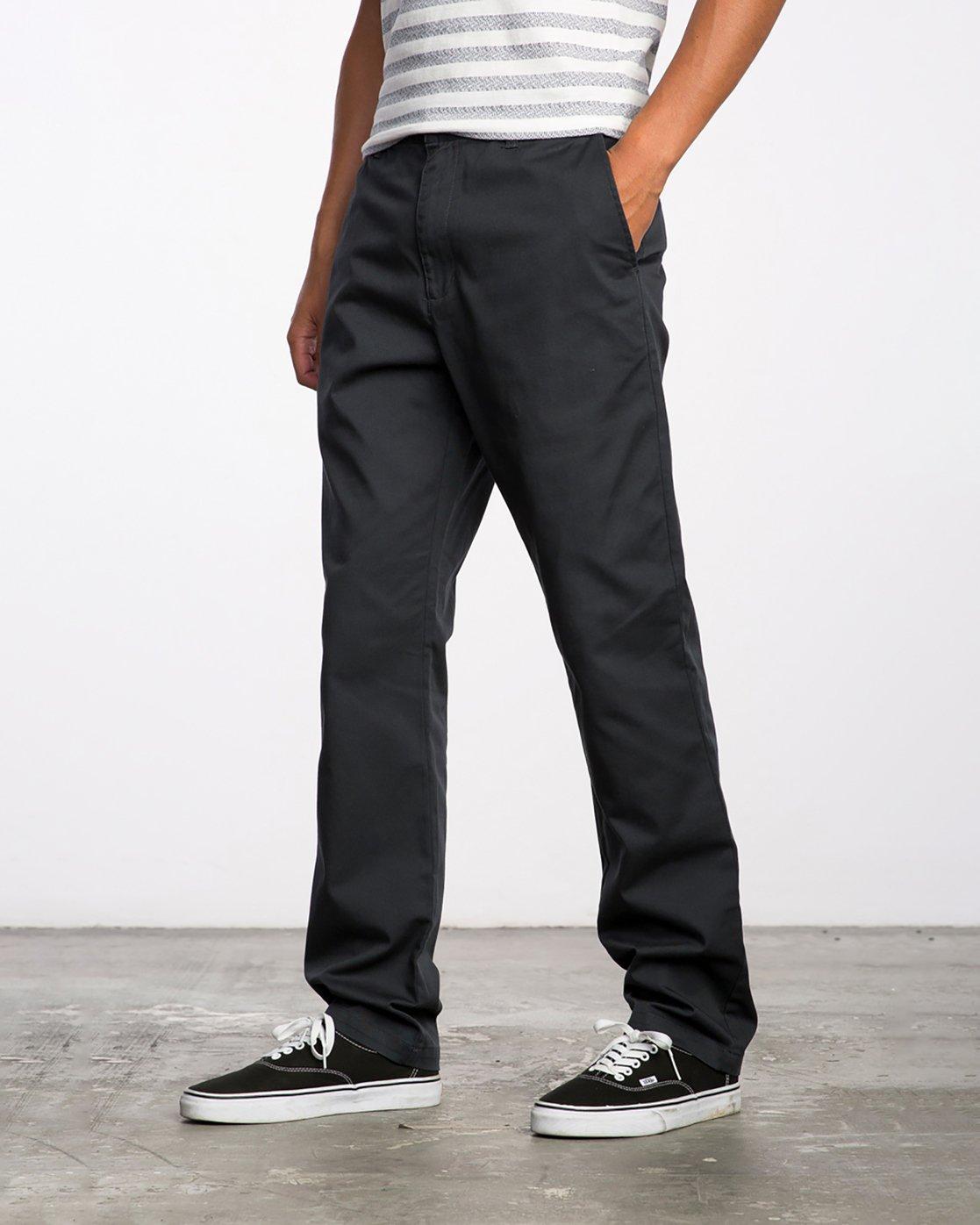 1 The Dayshift II Chino Pants Black MG302DAY RVCA