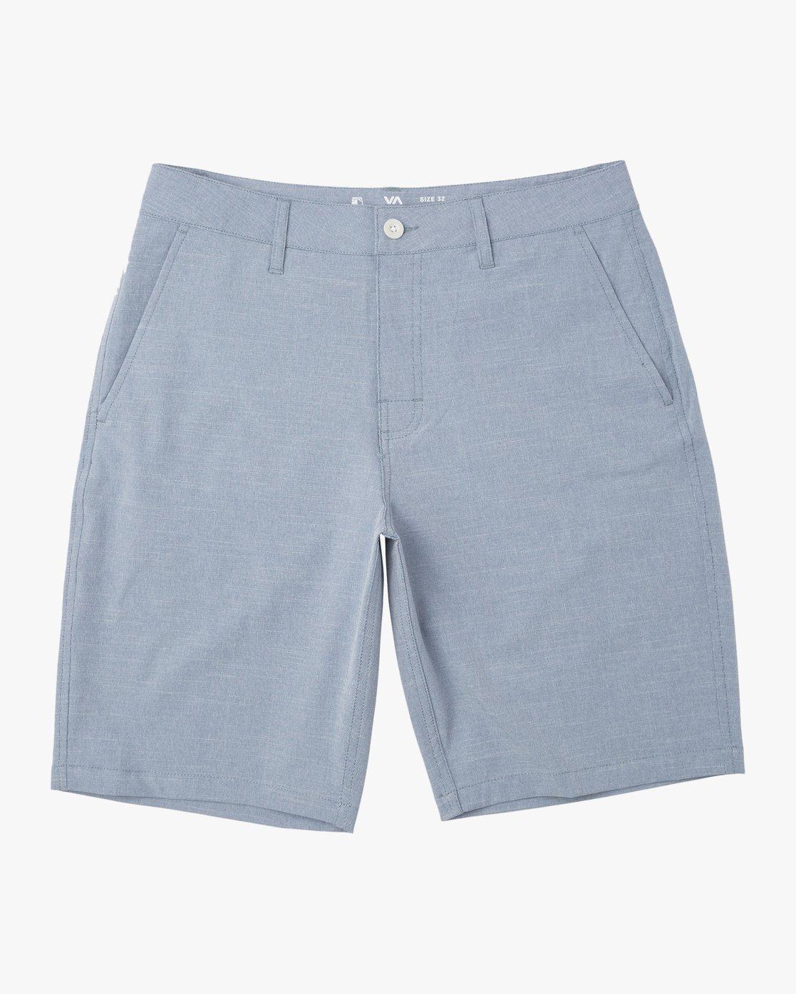 0 Balance Hybrid Shorts Blue MK201BAL RVCA