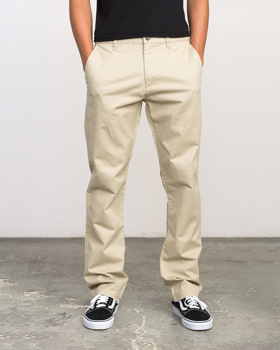 0 Stay RVCA Chino Pants Green ML301SRC RVCA