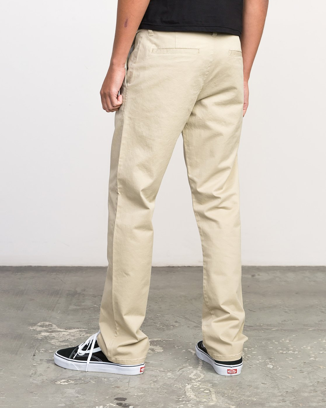 2 Stay RVCA Chino Pants Green ML301SRC RVCA
