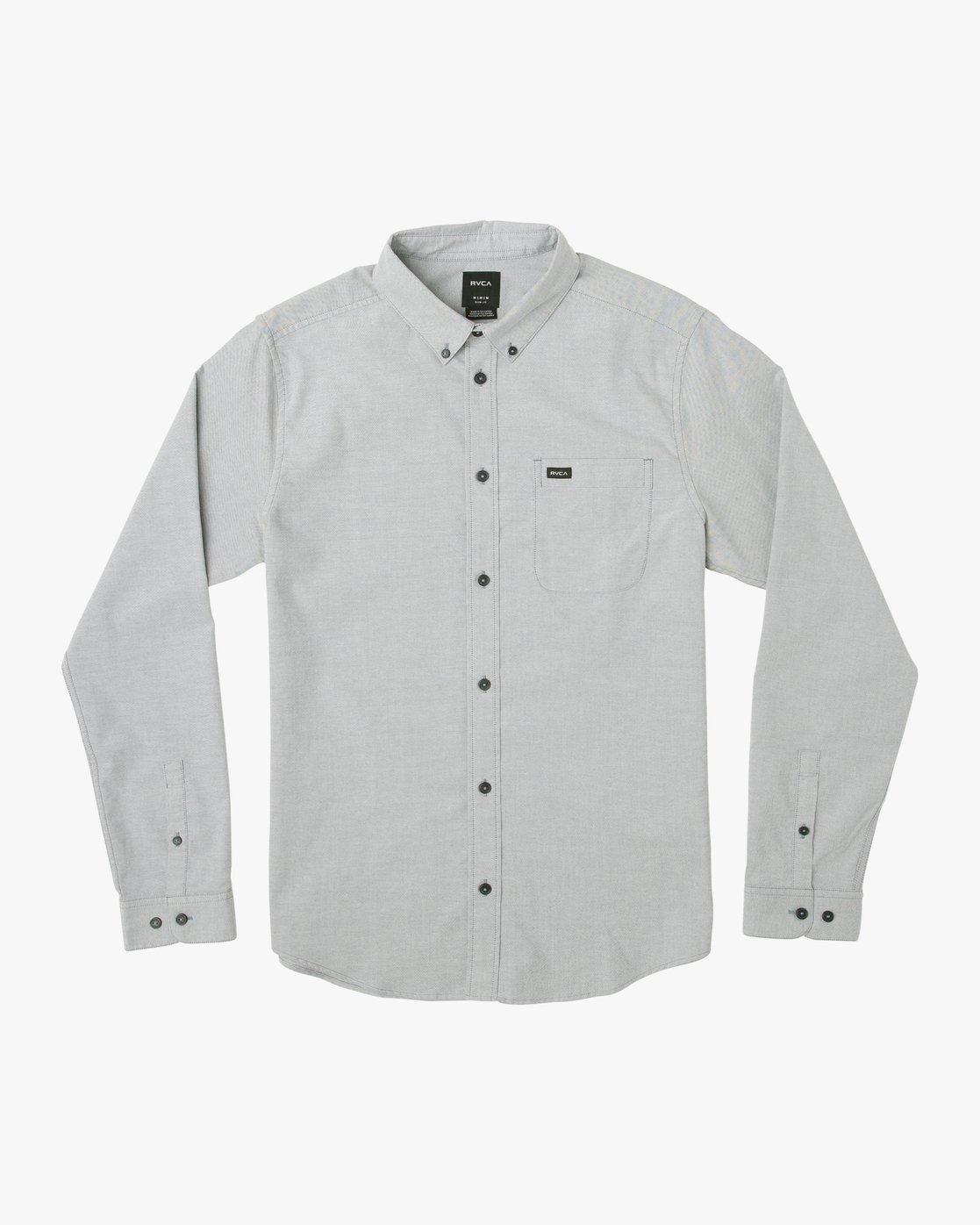 0 That'll Do Stretch Long Sleeve Shirt Multicolor ML501TSL RVCA