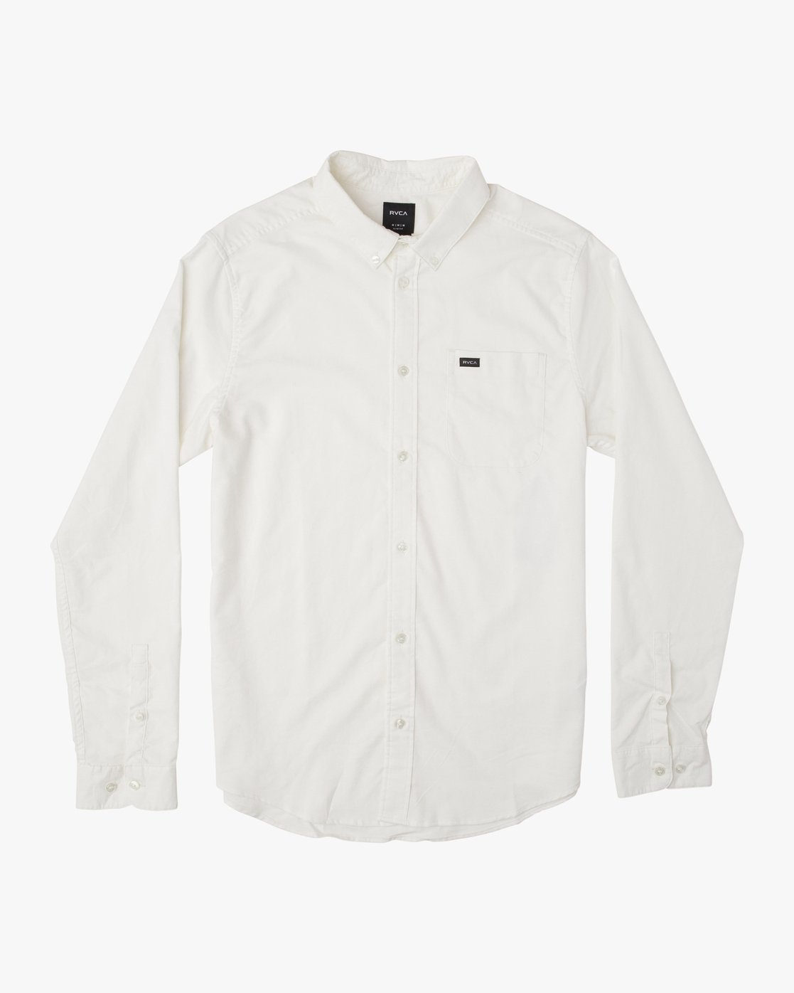 0 That'll Do Stretch Long Sleeve Shirt White ML501TSL RVCA