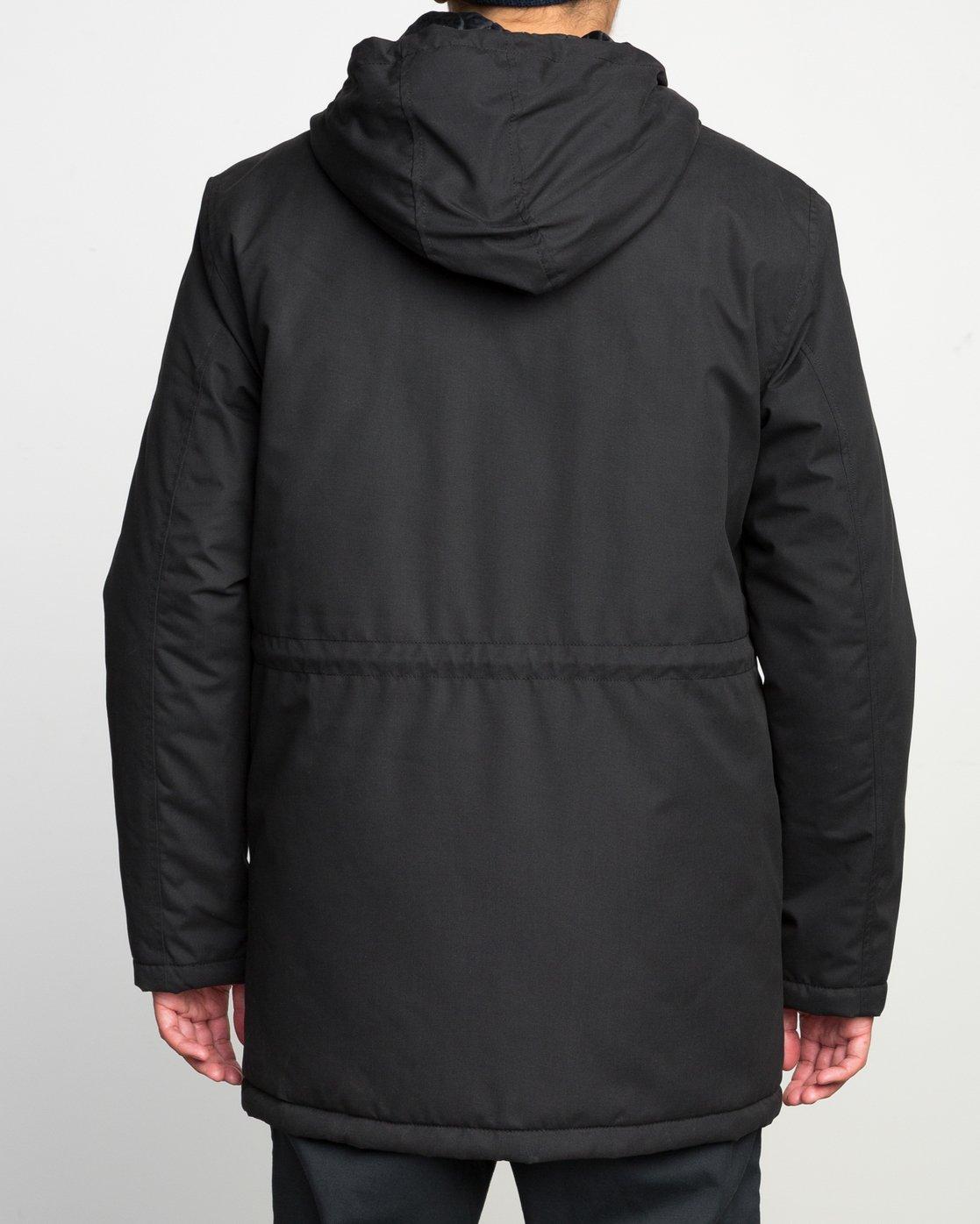 5 No Boundaries Parka Jacket Black ML705NOP RVCA
