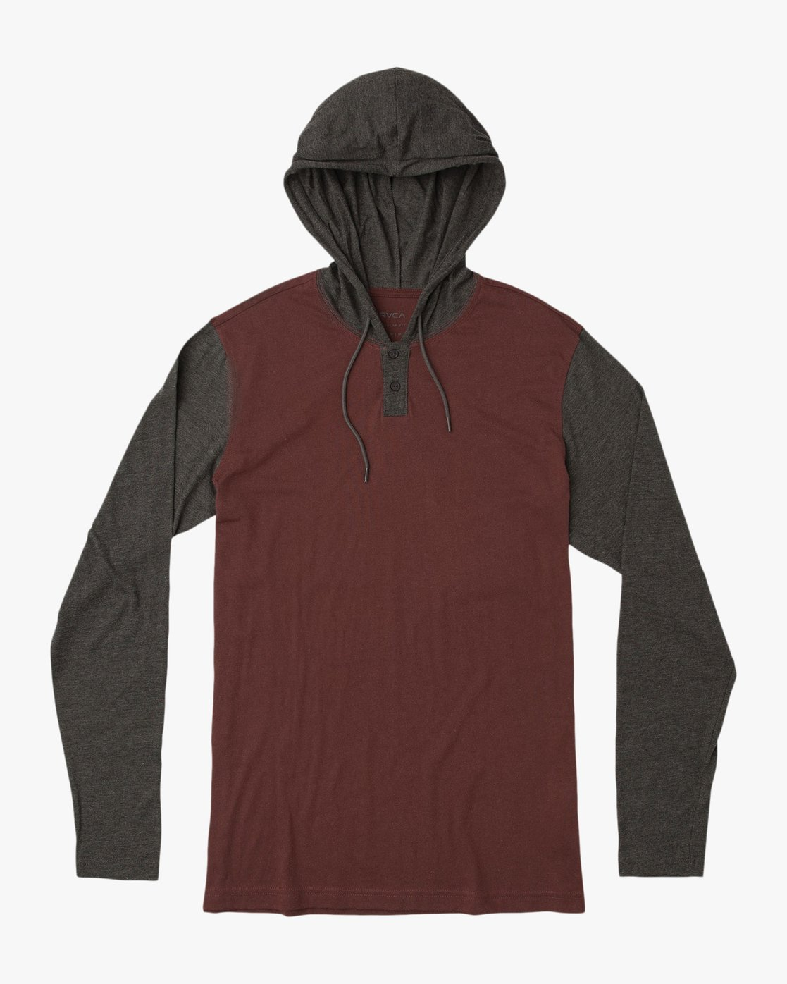 0 Pick Up Hooded Knit Shirt Red ML916PIH RVCA