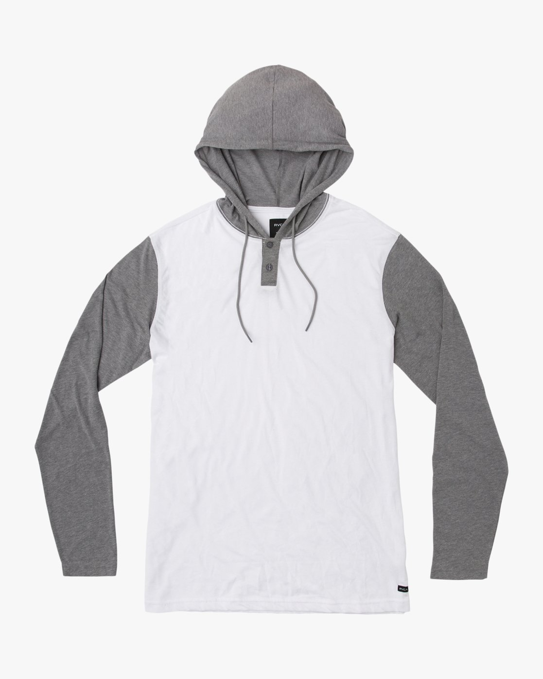 0 Pick Up Hooded Knit Shirt White ML916PIH RVCA