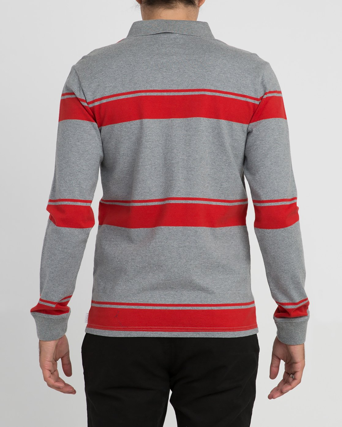 4 KL Rugby Long Sleeve Polo  MM906KLR RVCA