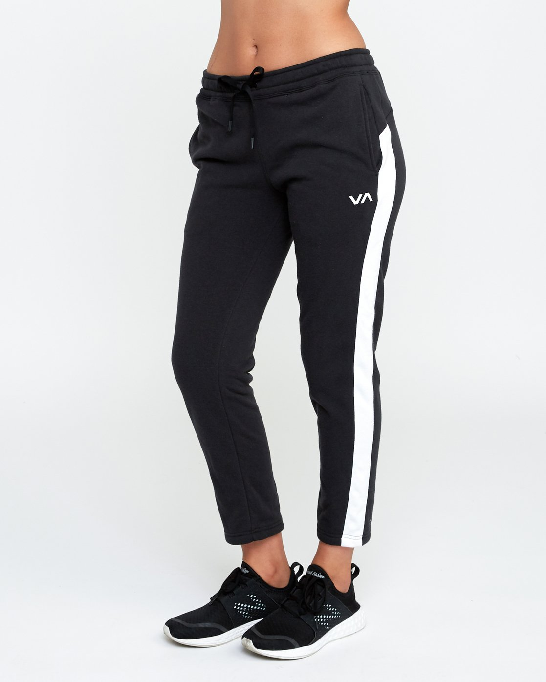 2 Tycho Fleece Jogger Pants Black T301SRTJ RVCA