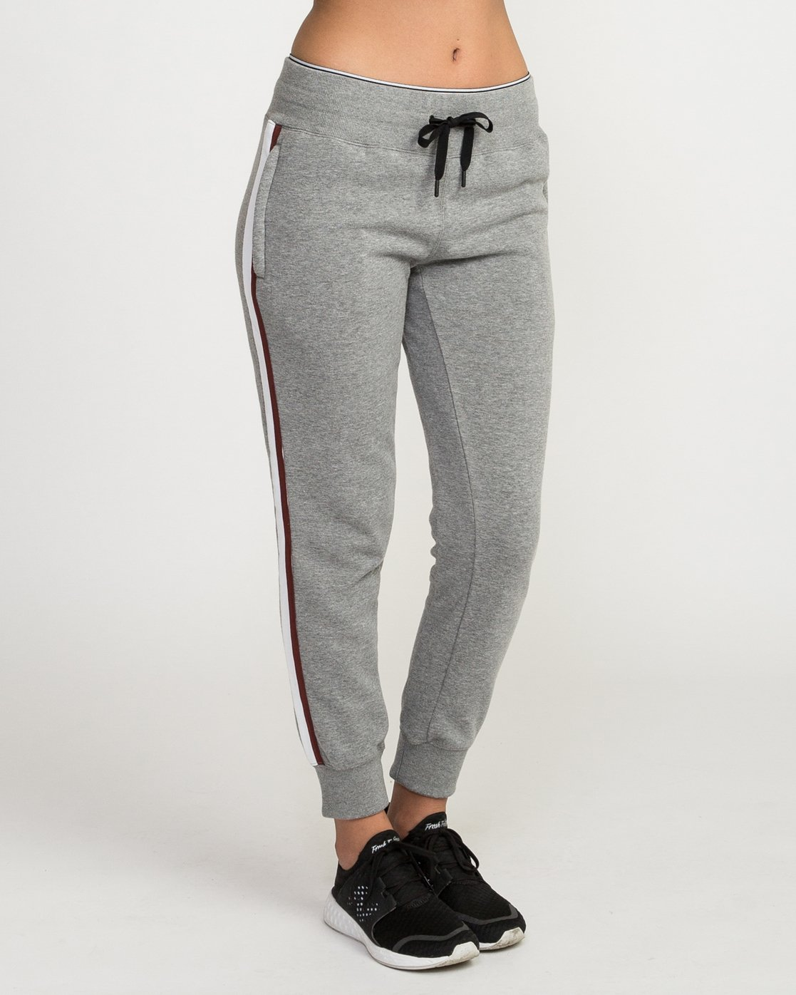6 VA Guard Fleece Jogger Pants Grey T354QRGU RVCA
