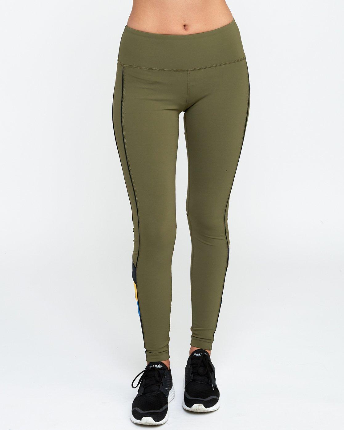 0 VA Legging Green T372QRLV RVCA