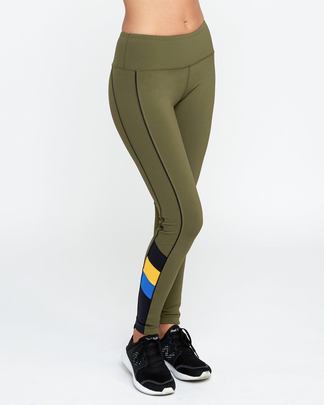 5 VA Legging Green T372QRLV RVCA