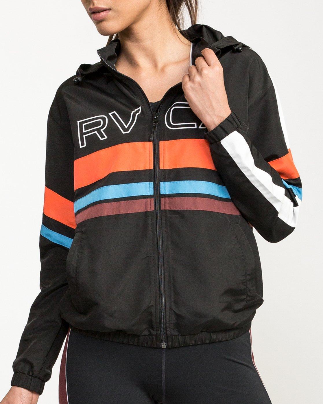 4 VA Team Jacket Multicolor T701QRTE RVCA