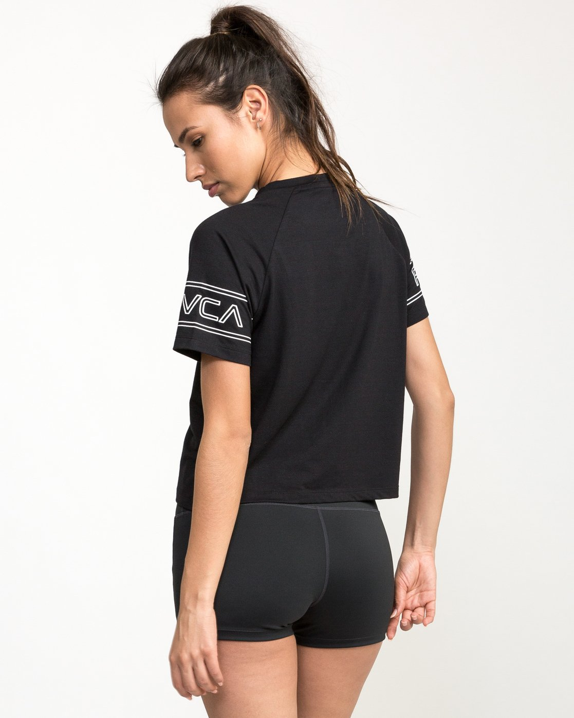 3 Freestyle Performance T-Shirt Black T975QRFR RVCA